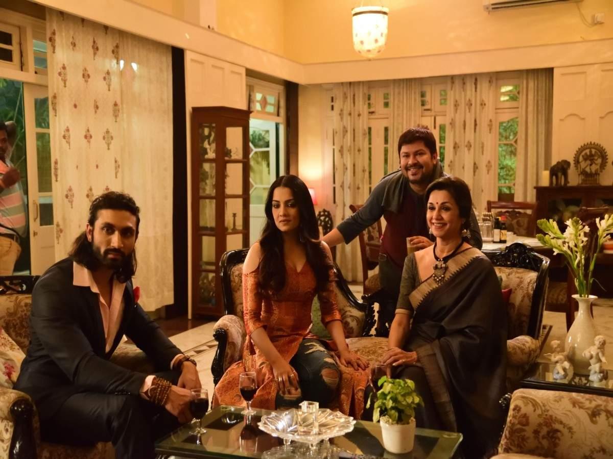 Celina Jaitly Lillette Dubey Azhar Khan and Ram Kamal Mukherjee (1)