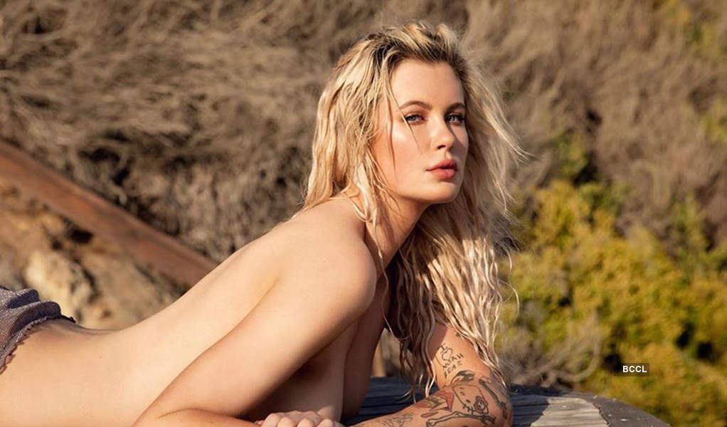 Topless pictures of Hailey Baldwin's cousin Ireland Baldwin are sweeping the internet