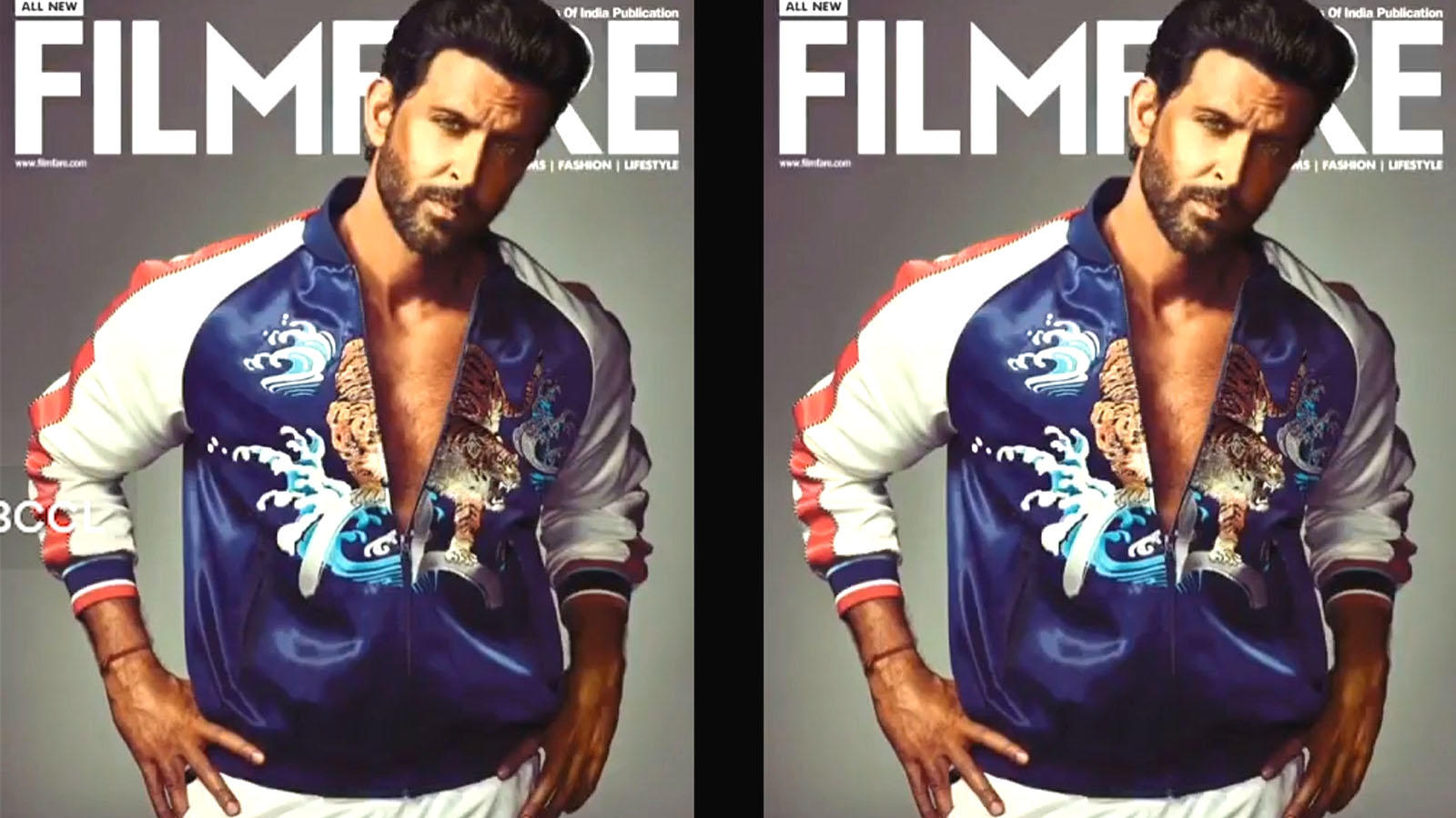 Hrithik Roshan redefines the meaning of 'cool' on the latest cover of Filmfare
