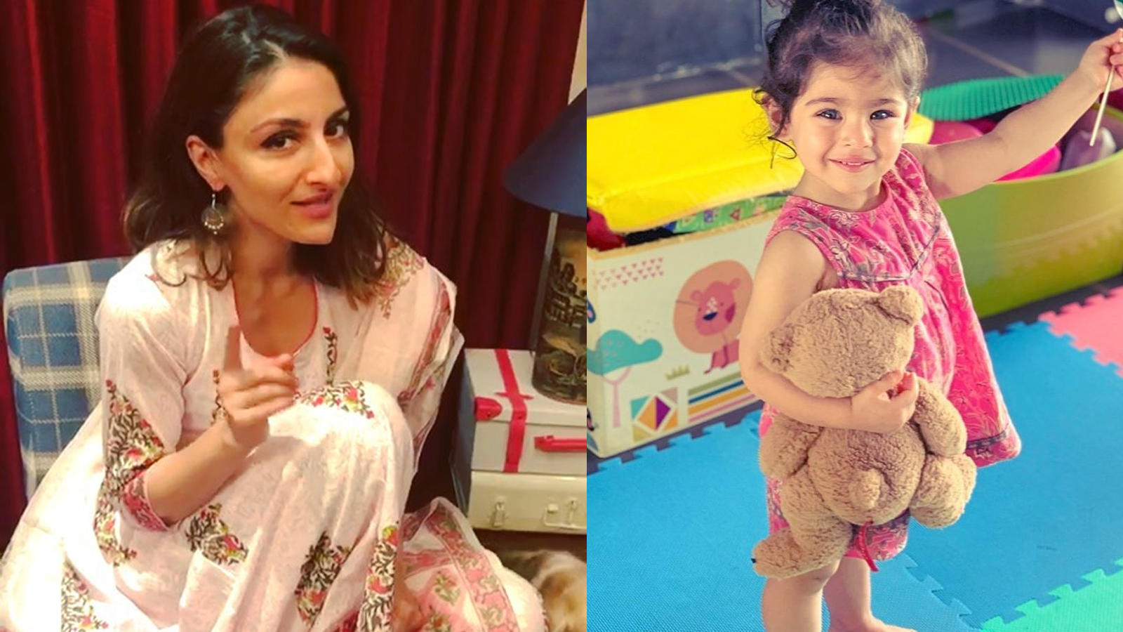 Soha Ali Khan says her little daughter Inaaya is crazy about lipsticks