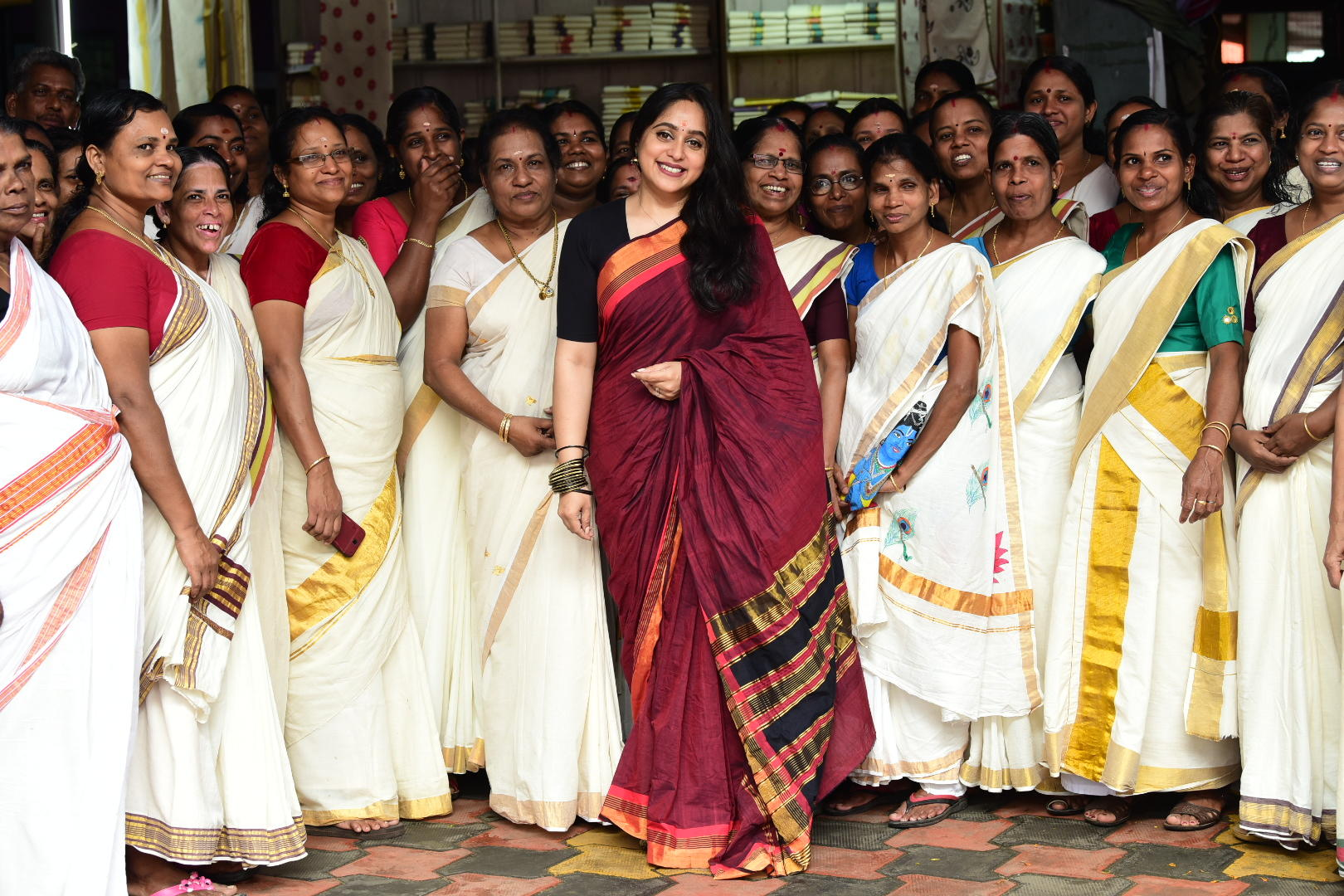 Chendamangalam weavers are ready with their Onam collections