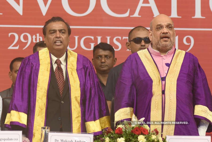 Mukesh Ambani calls Amit Shah 'true karmyogi'