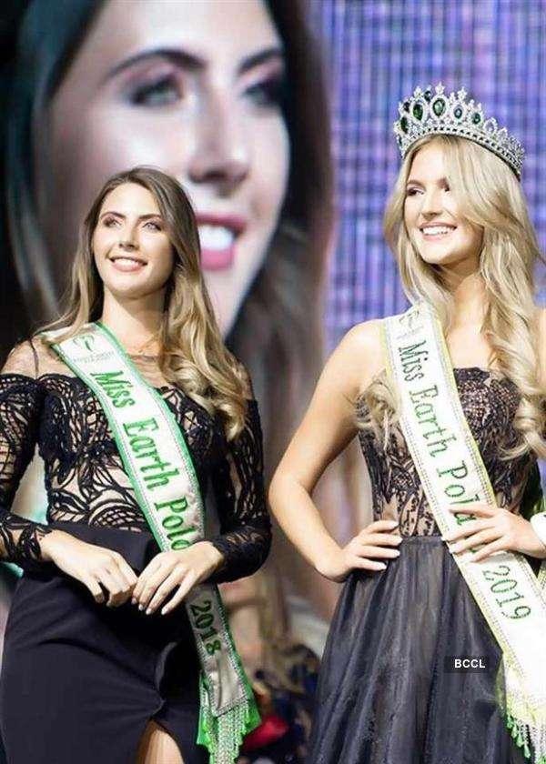 Krystyna Sokołowska crowned Miss Earth Poland 2019