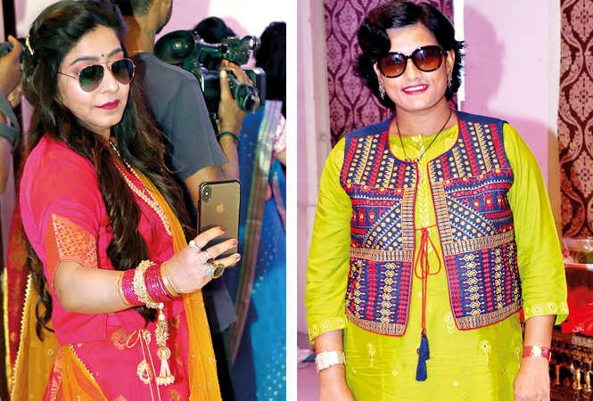 (L) Sanjana Rupani (R) Shipra Bhargava (BCCL/ Unmesh Pandey)