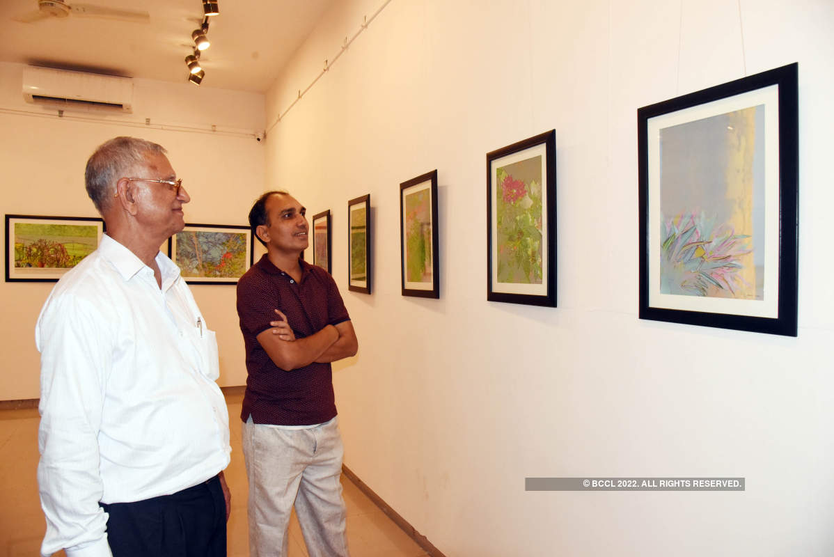Jaipurites attend a photo exhibition