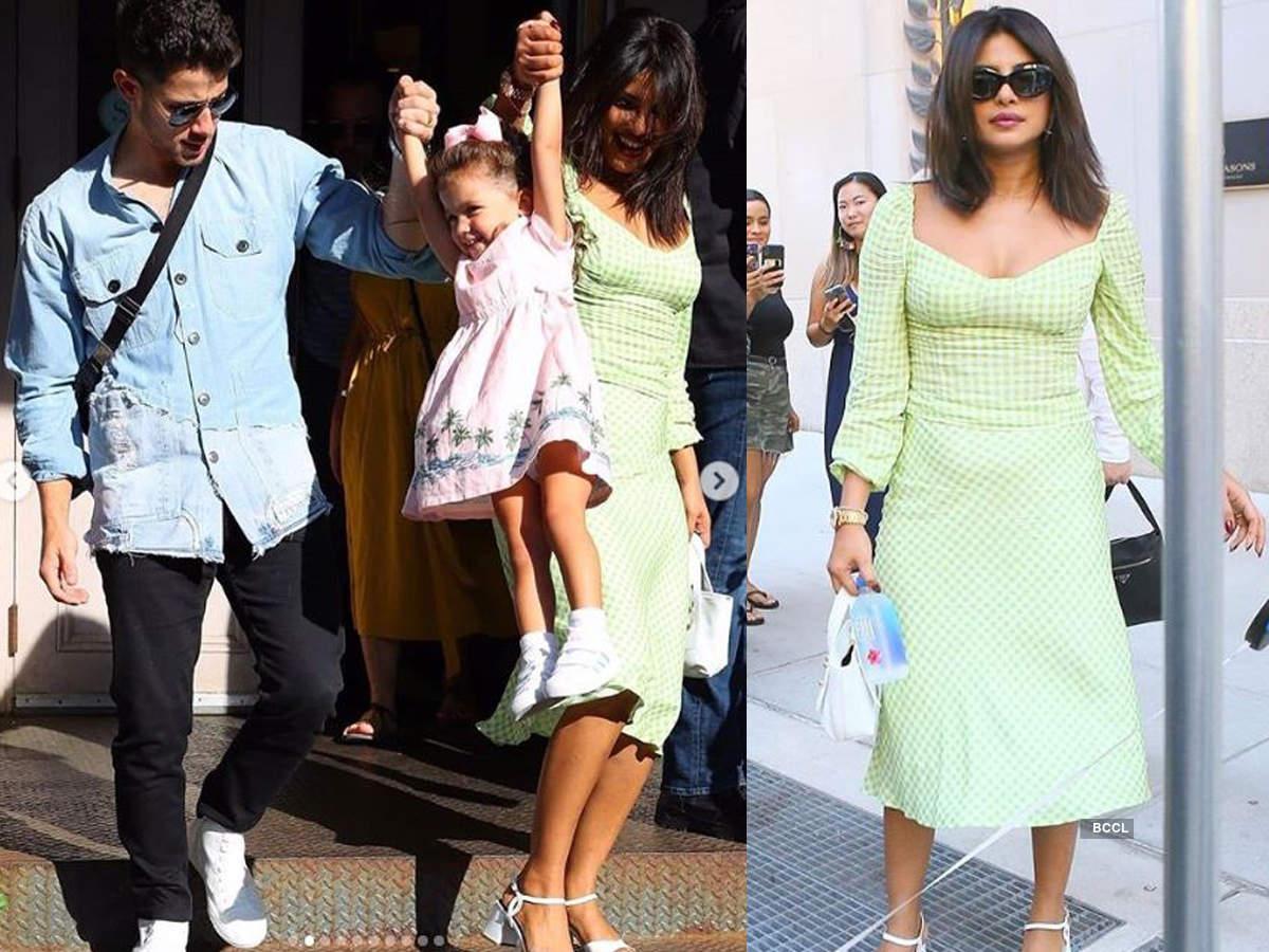 Priyanka Chopra, Nick Jonas enjoy a family day out in New York City