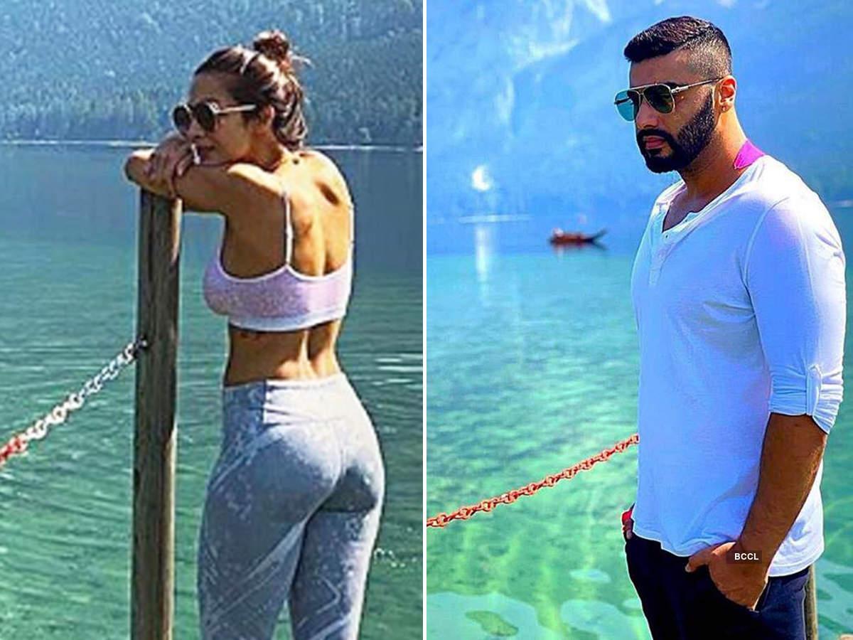 Malaika Arora and Arjun Kapoor share similar photos from their holiday in Austria