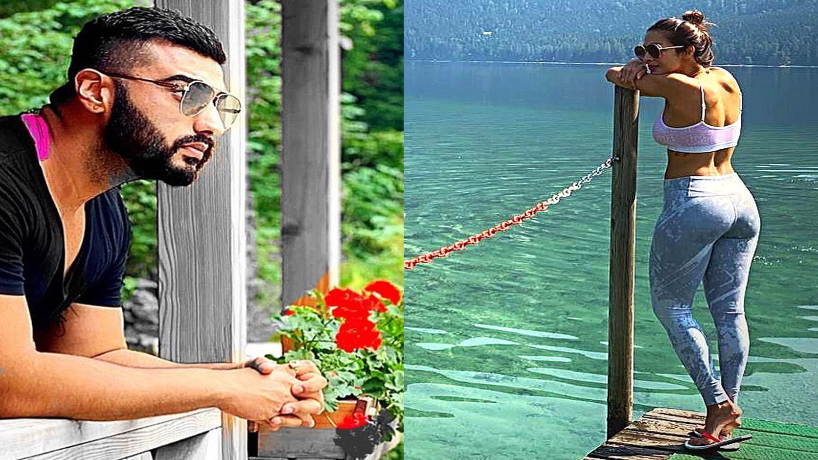 Sneak-peek into Arjun Kapoor and Malaika Arora's Austrian vacation