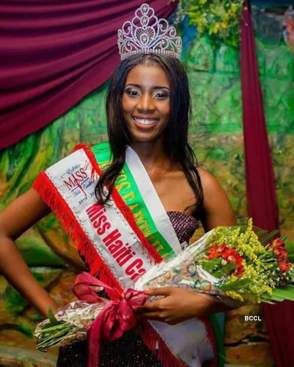 ​Emmanuella Michel crowned Miss Earth Haiti 2019​