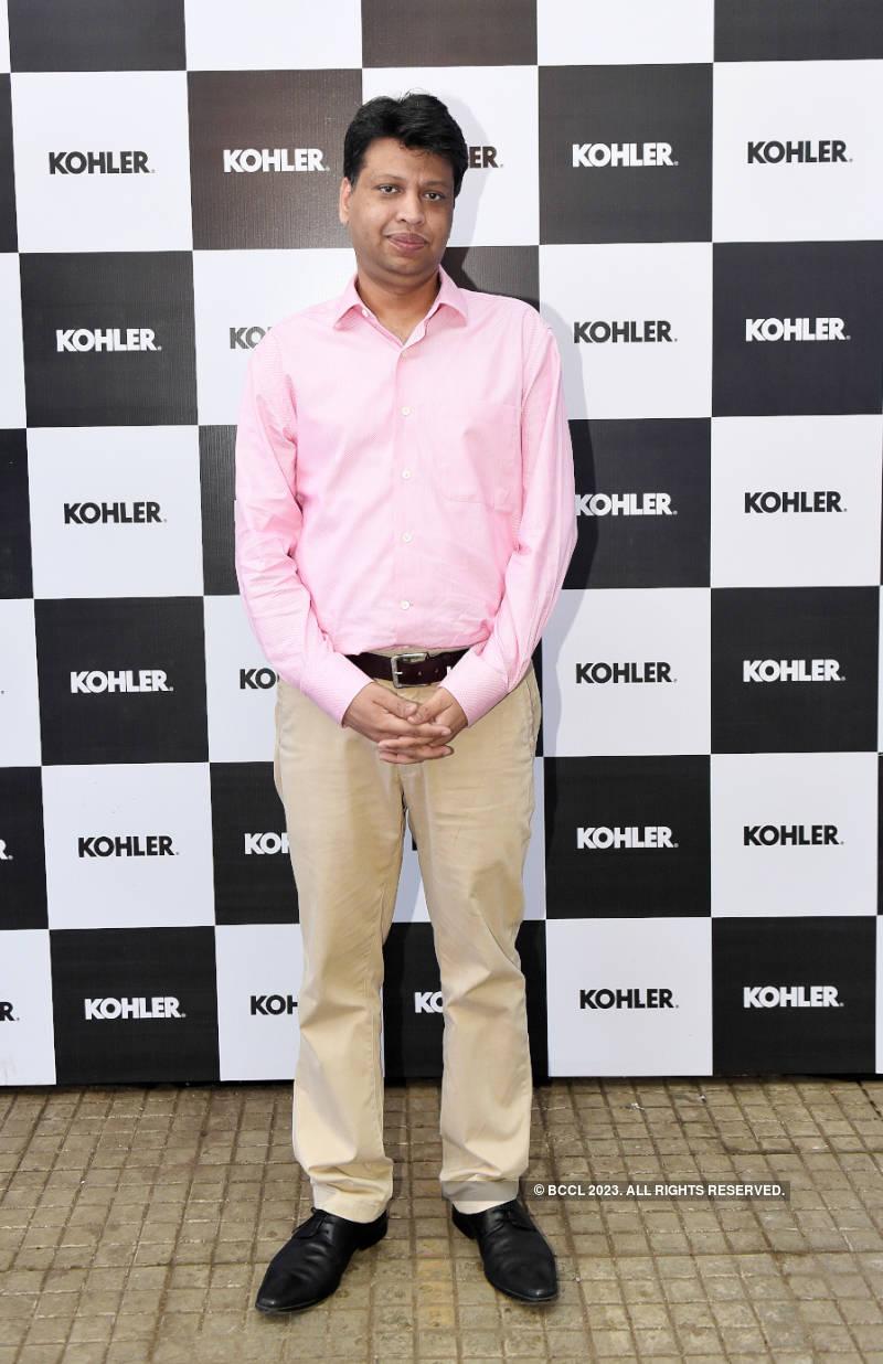 Riteish Deshmukh and Genelia D'Souza attend the Kohler Bold Art event
