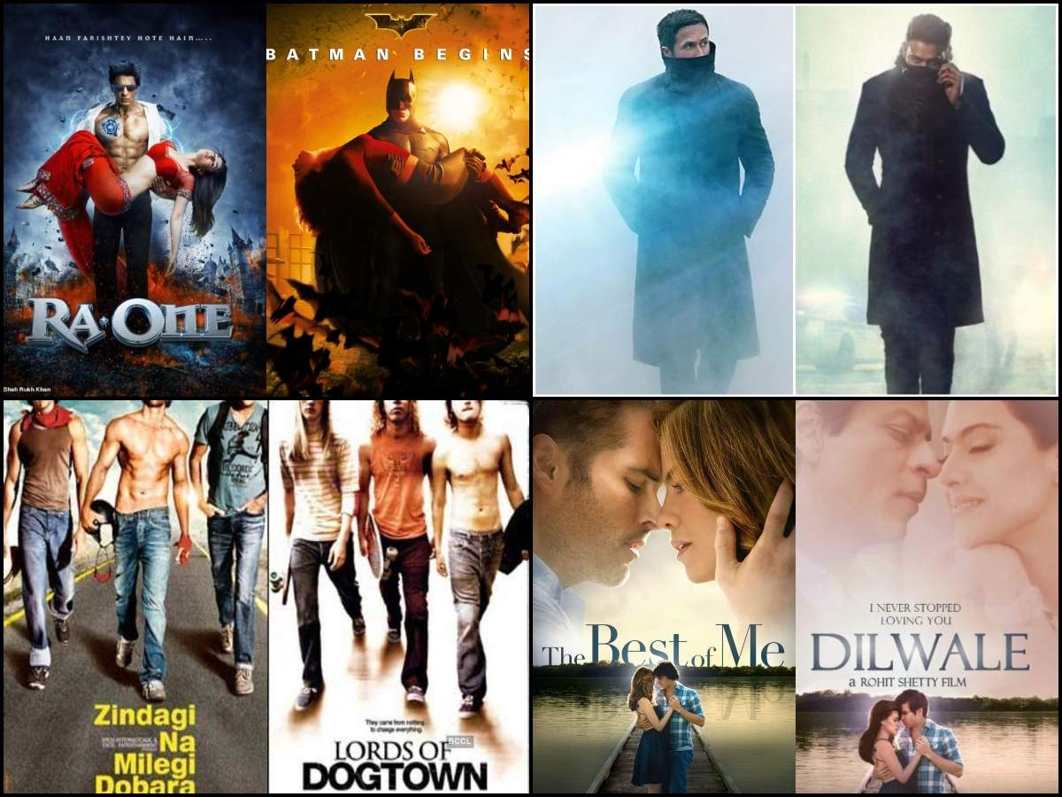 Saaho'-'Blade Runner 2049' to 'Ra One'-'Batman Begins': 10