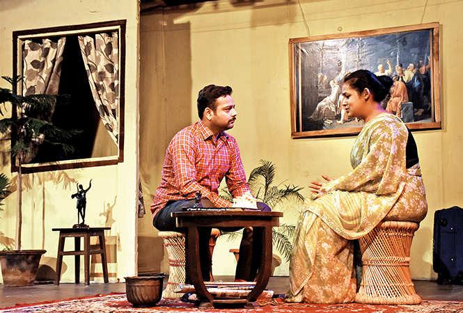 Suyash Bajpai and Nitransha Sinha (BCCL/ Vishnu Jaiswal)