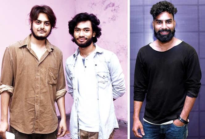(L) Anuj and Parth (R) Karan Chahar (BCCL/ Vishnu Jaiswal)