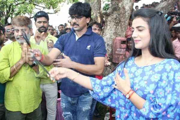 Akshara Singh and Ritesh Pandey start shooting for 'Doli