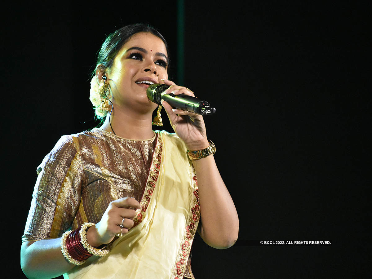 Celebs attend Iman Chakraborty's concert