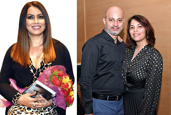 (L) Mahima Chaudhry (R) Peter and Michelle (BCCL/ Farhan Ahmad Siddiqui)