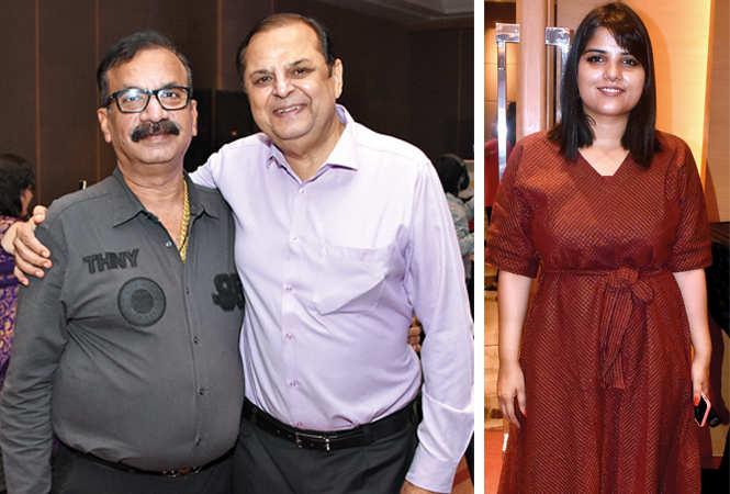(L) Sanjay Arora and Chandar Prakash (R) Vatsala (BCCL/ Farhan Ahmad Siddiqui)