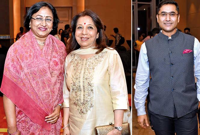 (L) Anuradha Goel and Sudha Prakash (R) Ashish Kumar (BCCL/ Farhan Ahmad Siddiqui)