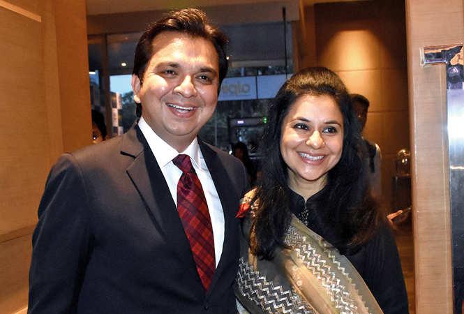 Gaurav and Anupama Prakash (BCCL/ Farhan Ahmad Siddiqui)