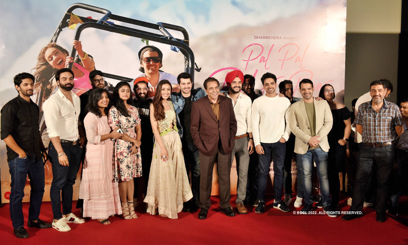 Pal Pal Dil Ke Paas: Trailer launch