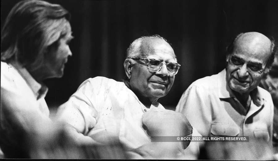 Rare and unseen pictures of eminent lawyer Ram Jethmalani