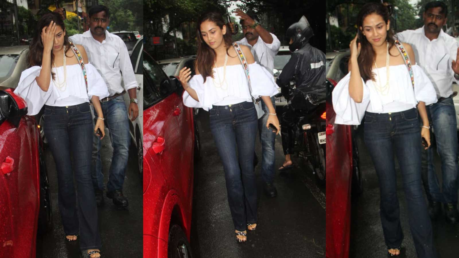 Mira Rajput looks her casual best as she steps out for birthday lunch