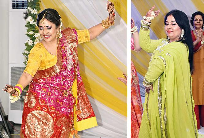 Raji Satyarth  with Pooja Thakur Sekera   (BCCL/ Farhan Ahmad Siddiqui)
