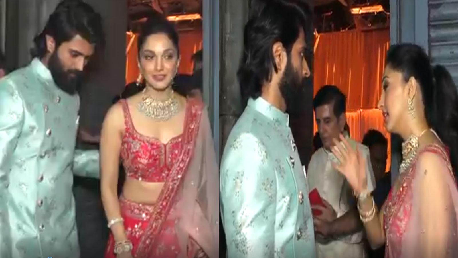 'Kabir Singh' actress Kiara Advani spotted with Vijay Deverakonda