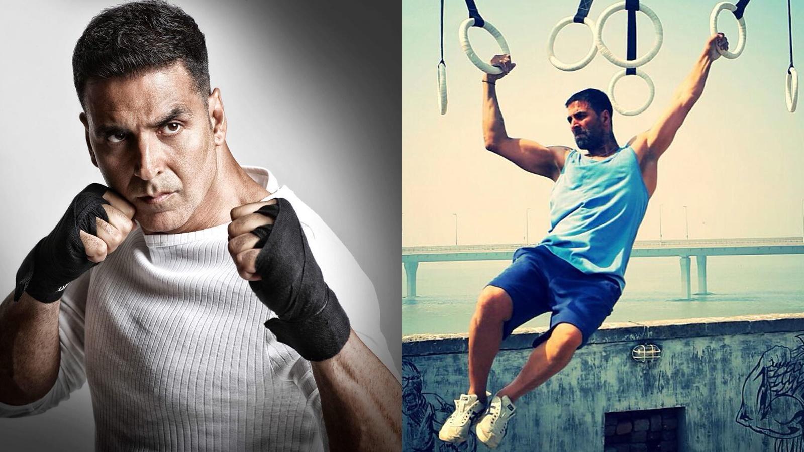 Birthday boy Akshay Kumar is the epitome of fitness at 52
