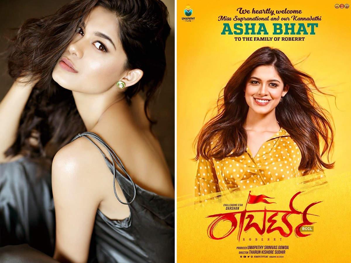 Asha Bhat to make her Kannada debut opposite Darshan