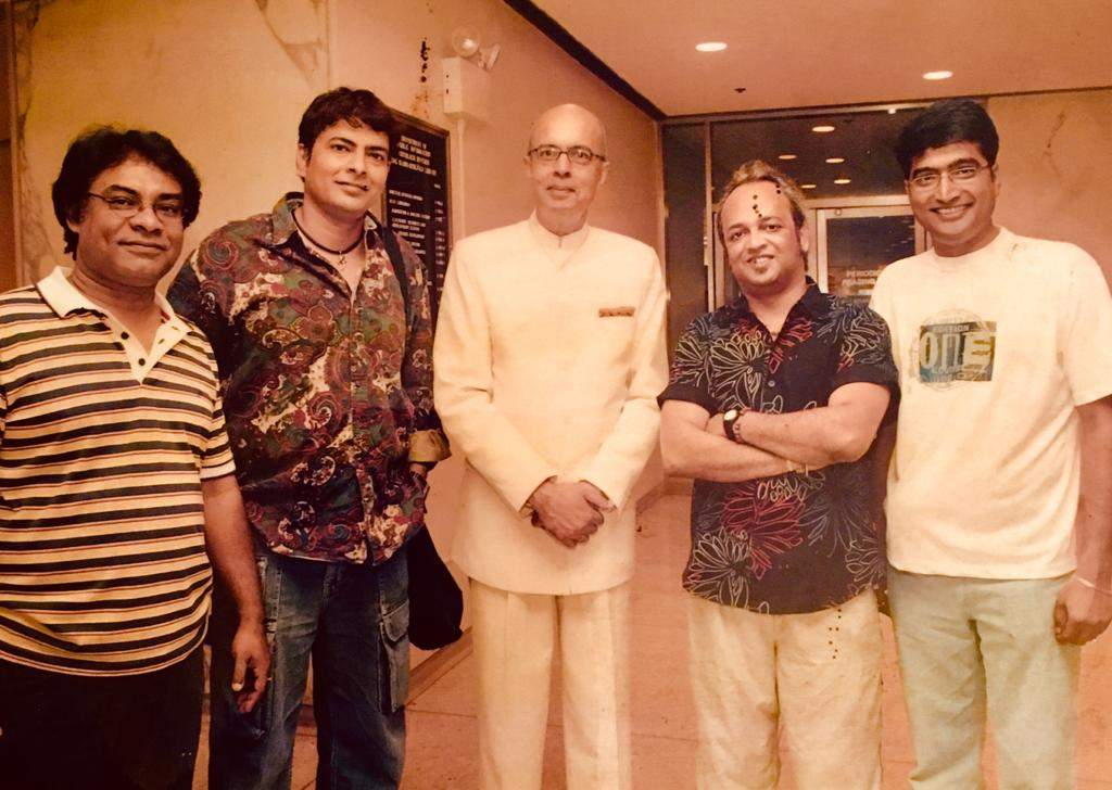 Bhoomi with Indian diplomat to the US nirupam sen in 2006.