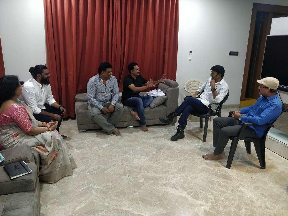 Dr Rajasekhar and team