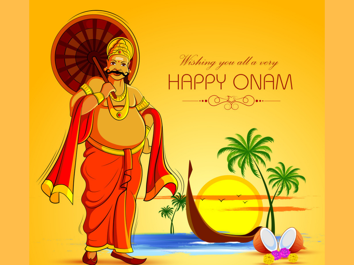 Happy Onam Facebook & WhatsApp status