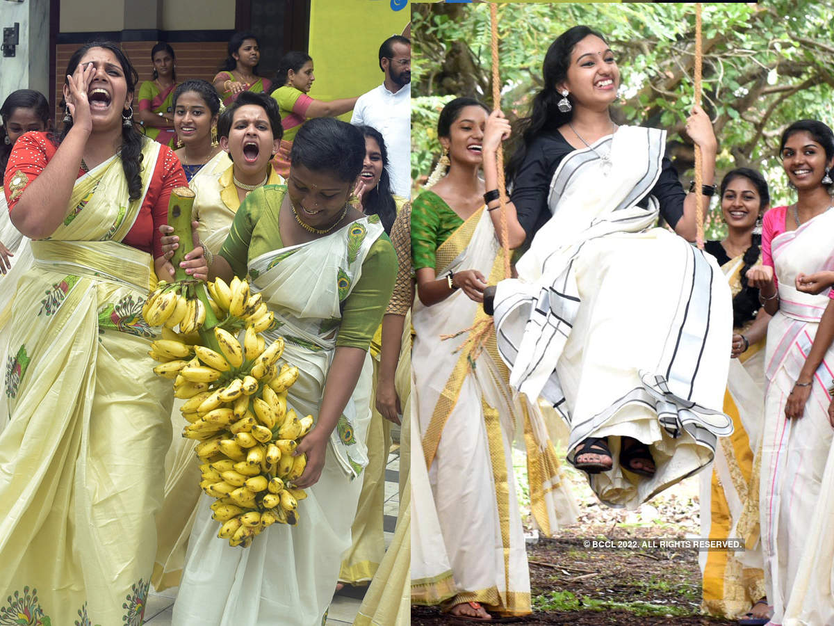 30 colourful pictures of Onam celebrations