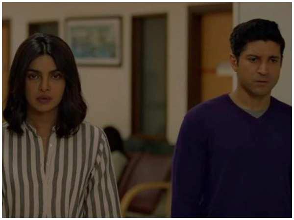 Priyanka Chopra and Farhan Akhtar in The Sky Is Pink