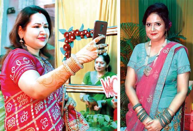 (L) Mamta Singh (R) Dipali Chandra (BCCL/ Aditya Yadav)