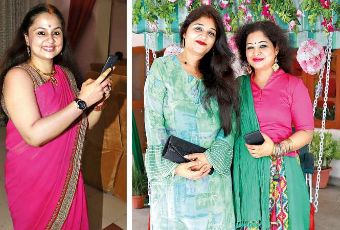 (L) Nandini Pathak (R) Manisha Singh and Rachana (BCCL/ Aditya Yadav)