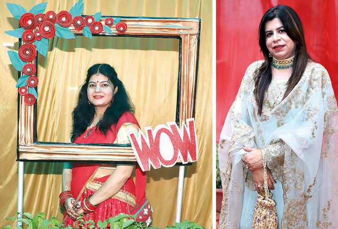 (L) Preeti Pandey (R) Sabiha Ahmad (BCCL/ Aditya Yadav)