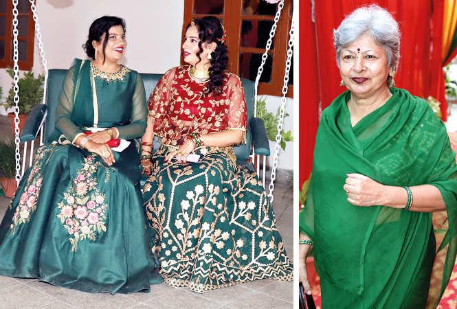 (L) Surbhi Goel and Bharti Sharma (R) TN Verma (BCCL/ Aditya Yadav)