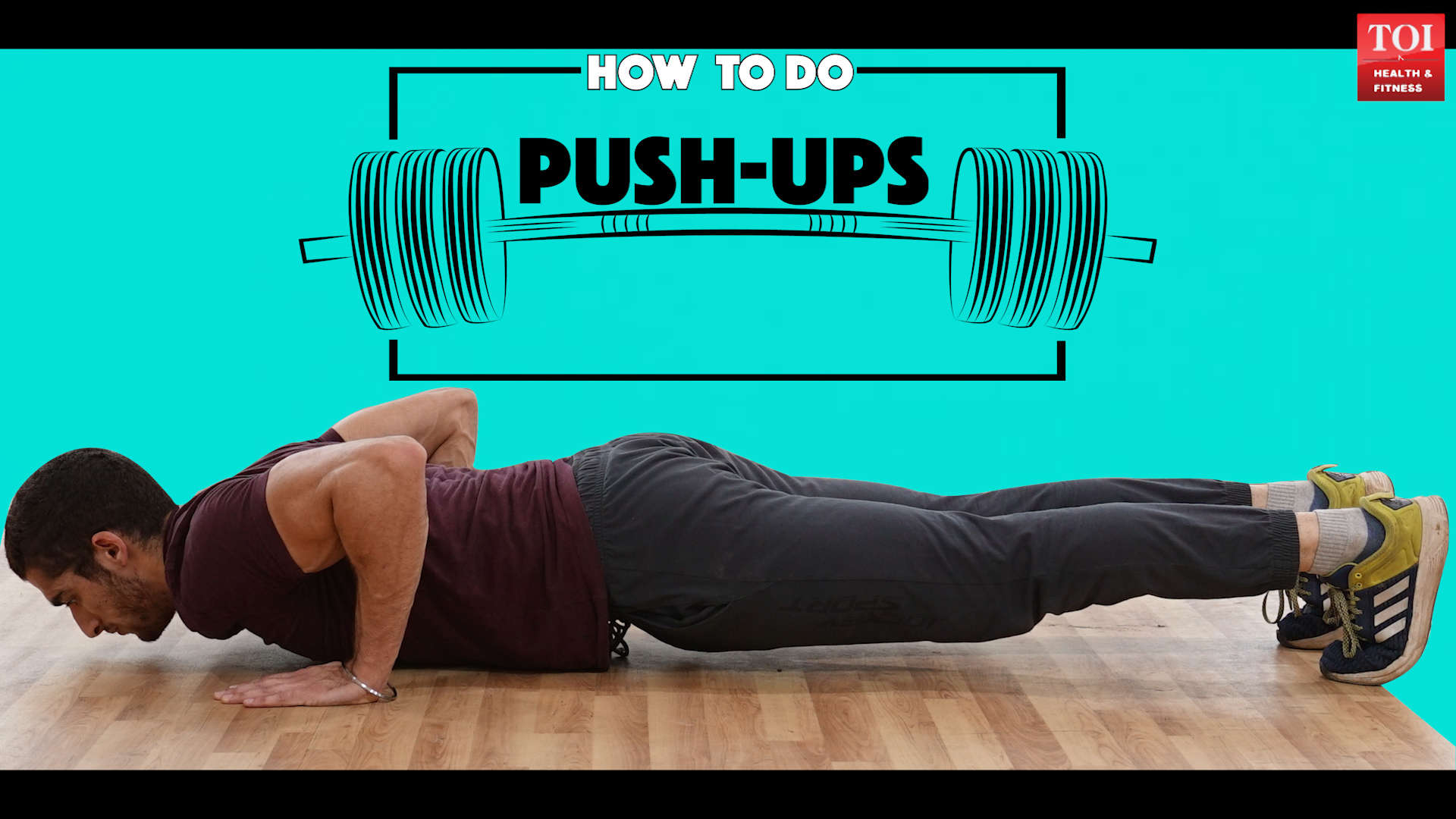 How to do push-ups