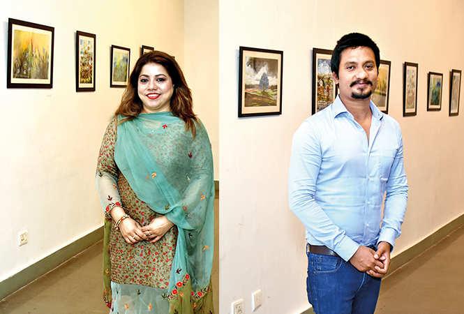 (L) Ghazala Beg (R) Imran Beg (BCCL/ Vishnu Jaiswal)