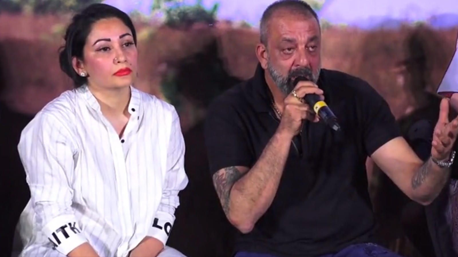 Sanjay Dutt calls himself fortunate for having a wife like Maanayata by his side