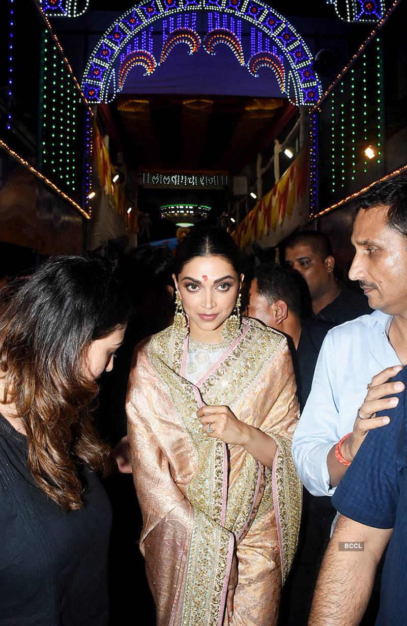 Deepika Padukone at Lalbaugcha Raja