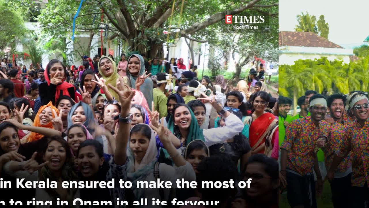 College students usher in Onam