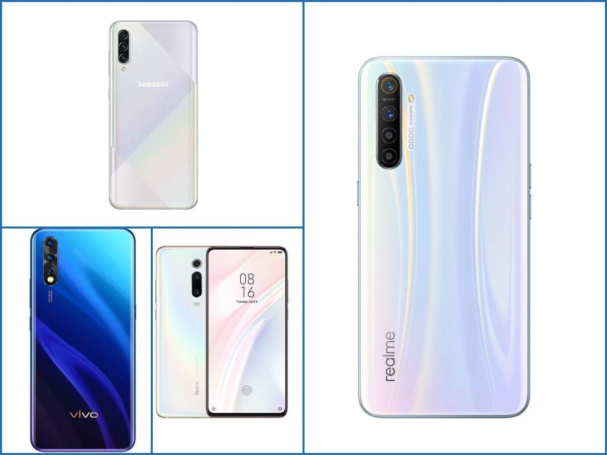 How Realme XT, first smartphone with 64MP camera, compares to rivals Xiaomi Redmi K20, Vivo Z1x and Samsung Galaxy A50s