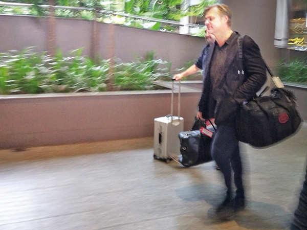 Nolan arrives in Mumbai