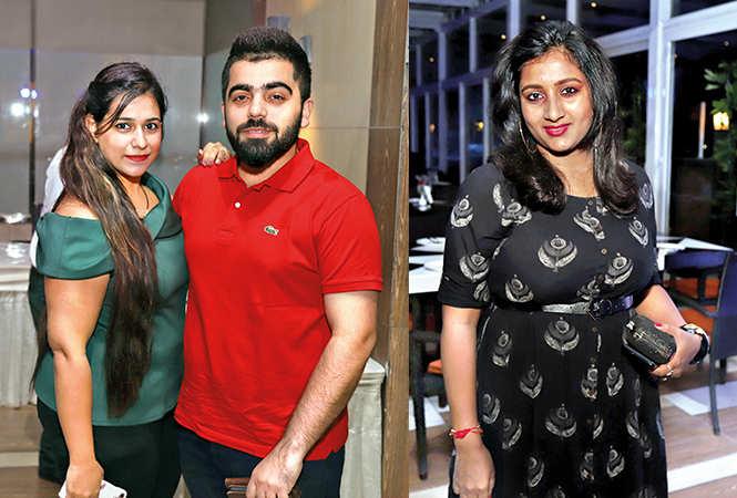 Komal and Kartik  with  Dr Chhaya  (BCCL/ Aditya Yadav)