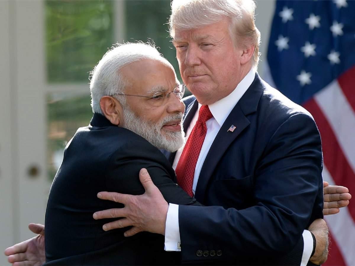 Image result for Modi Trump