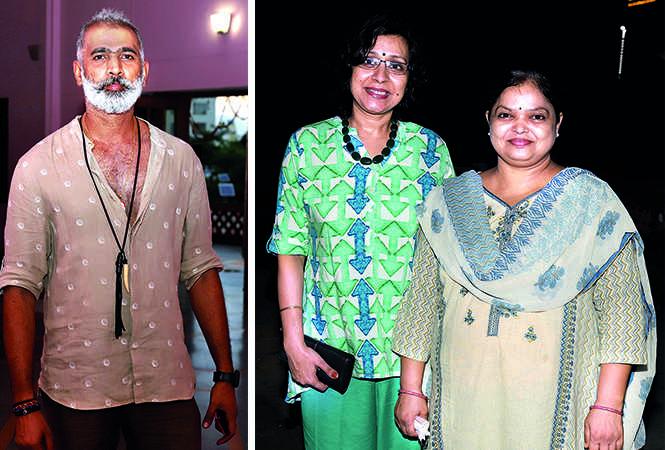 (L) Bhoopesh Rai (R) Neelima and Ranjana (BCCL/ Aditya Yadav)