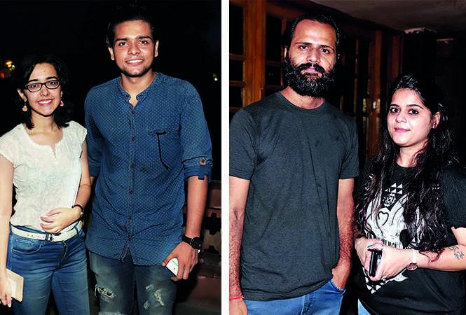 (L) Nikita Tandon and Devang Tewari (R) Prafulla Tripathi and Somya Chawla (BCCL/ Aditya Yadav)